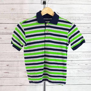 4/$25 Children's Place striped short sleeve shirt
